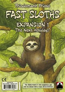 Fast Sloths Expansion 1 : The Next Holiday
